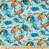 Sea Turtles Cotton Calico Fabric