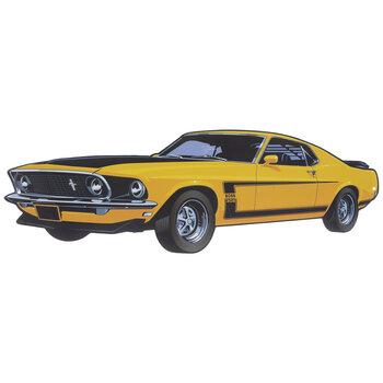 Mustang Boss 302 Metal Sign