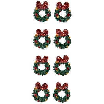 Wreath Rhinestone Stickers