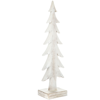 White Wood Grain Tree