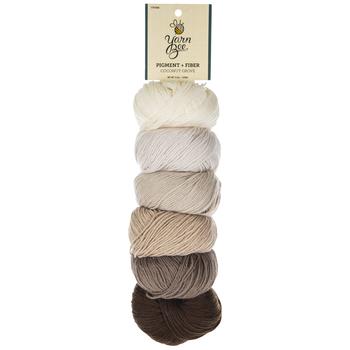 Coconut Grove Yarn Bee Pigment + Fiber Yarn