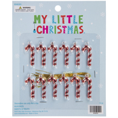 Candy Cane Mini Ornaments