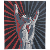 Comic Rock Out Canvas Wall Decor