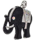 Rhinestone Elephant Pendant