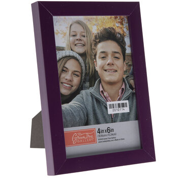 Purple Flat Frame