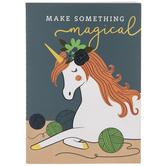 Make Something Magical Unicorn Notebook