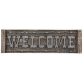 Welcome Western Wood Wall Decor