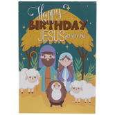 Happy Birthday Jesus Activity Pads