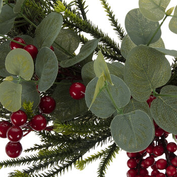 Eucalyptus & Berry Twig Wreath
