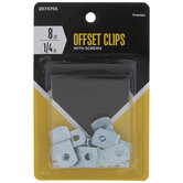 Offset Clips With Screws