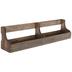 Rustic Wood Wall Shelf