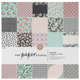 "In Bloom Foiled Paper Pack - 12"" x 12"""