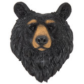 Black Bear Head Wall Decor