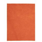 "Orange Felt Sheet - 12"" x 9"" x 2mm"