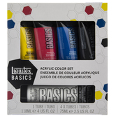 Basics Acrylic Paint - 5 Piece Set