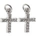 Rhinestone Cross Charms