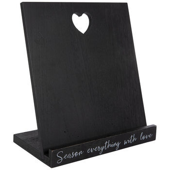 Season Everything With Love Wood Tablet Stand