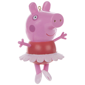 Peppa Pig In Tutu Ornament