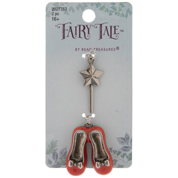 Ruby Slippers & Star Wand Charms