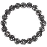 Dark Gray Rhinestone Bracelet