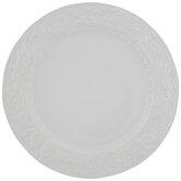 White Leafy Edge Plate