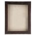 Distressed Walnut Wood Shadow Box - 11
