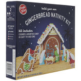 Gingerbread Nativity Kit