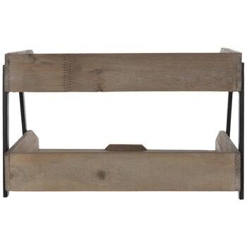 Two-Tier Wood Organizer