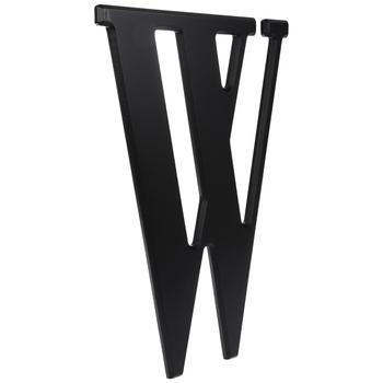 Black Letter Wood Wall Decor - W