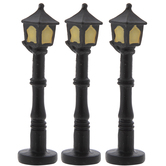 Miniature Black Lamp Posts