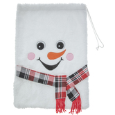 Snowman Drawstring Gift Bag