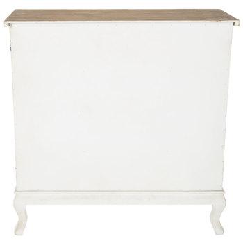 White French Farmhouse Cabinet