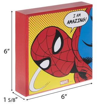 I Am Amazing Spider-Man Wood Decor
