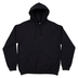 Black Adult Hooded Sweatshirt - Medium