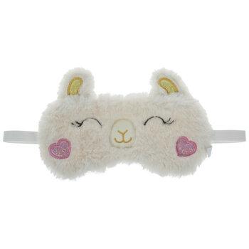 Plush Llama Sleep Mask