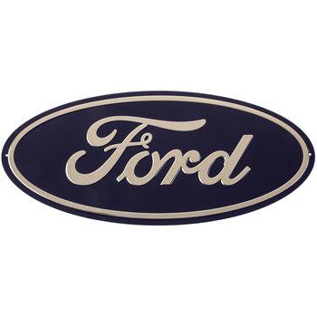 Ford Logo Metal Sign