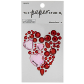 Heart Rhinestone Sticker