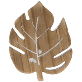 Palm Leaf Wood Coasters