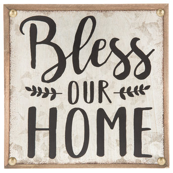 Bless Our Home Wood Decor
