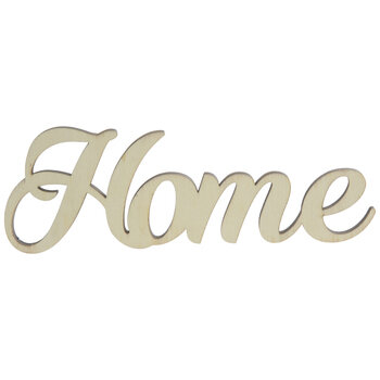 Home Wood Cutout