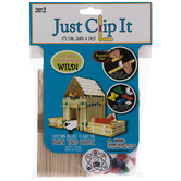 Just Clip It Barnyard House Craft Kit