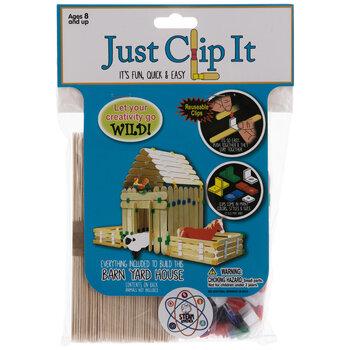 Just Clip It Barnyard House Craft Kit