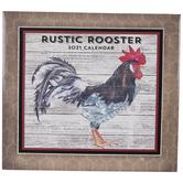 Rustic Rooster Calendar