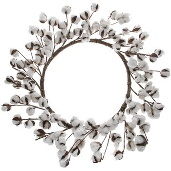 Cotton Bolls Wreath