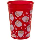 Santa Head & Snowflake Cups