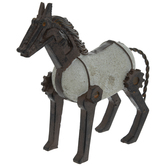 Horse With Gear Parts