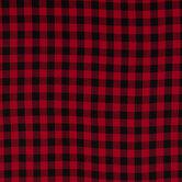 Red & Black Buffalo Check Apparel Fabric