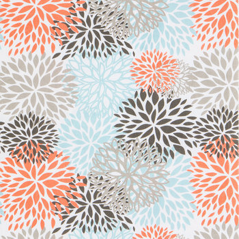 Byram Blooms Duck Cloth Fabric