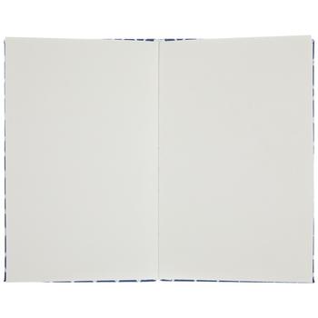 Blue & White Ikat Sketchbook
