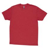 Red Adult Tri-Blend Crew T-Shirt - XL